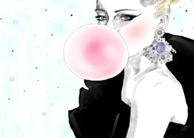 portrait-bubble-gum-francesca-di-marco-art-artist-blog-2