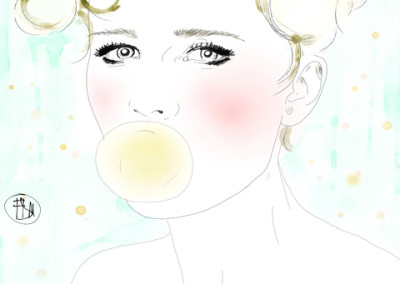 portrait-bubble-gum-francesca-di-marco-art-artist-blog-3