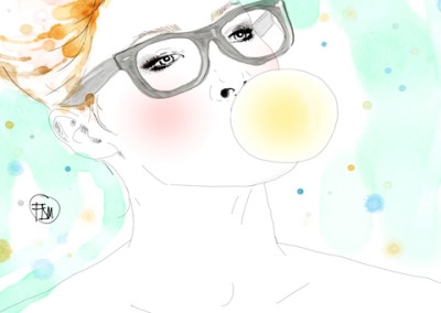 portrait-bubble-gum-mode-francesca-di-marco-art-artist-blog-1