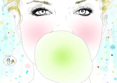 portrait-bubble-gum-mode-francesca-di-marco-art-artist-blog