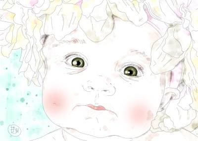 kid-portrait-art-artist-francesca-di-marco-painting